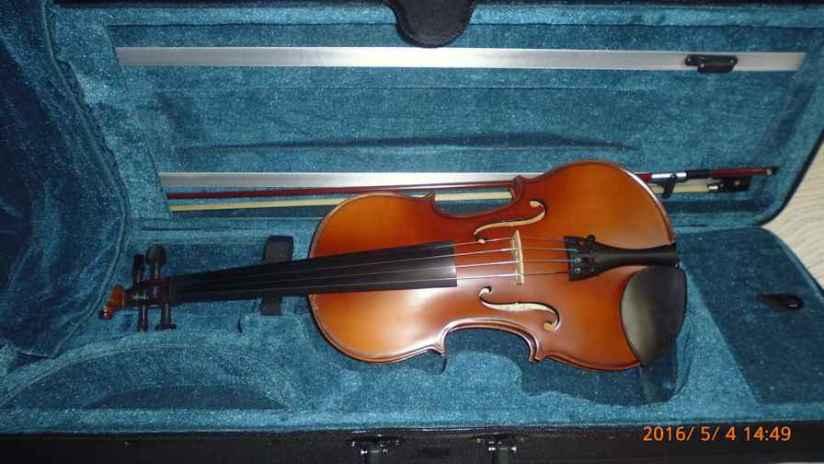 Session violinist testing aviolin
